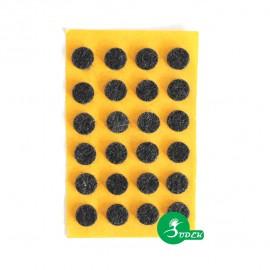 Podkładki filcowe koła fi 10 mm
