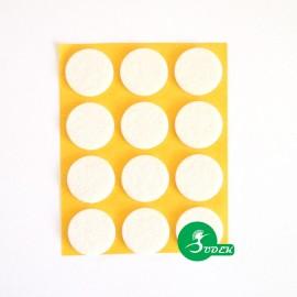 Podkładki filcowe koła fi 28 mm