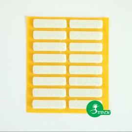 Podkładki filcowe prostokąt 40x10 mm