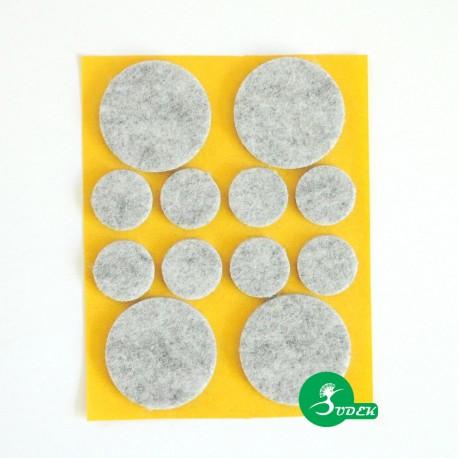 Podkładki filcowe koła fi 38 i 20 mm