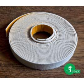 Paski filcowe szer. 30 mm kolor biały